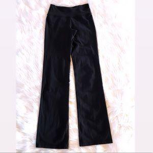 LULULEMON Black Wide leg Leggings, Size 4.